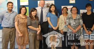 新西兰教育联盟总监冯霞 应邀访问怀阿里奇理工学院
